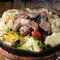季節の野菜とラム肉が楽しめる『彩り野菜のジンギスカン』