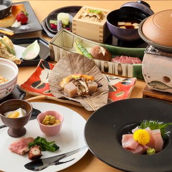 【会席料理コース各種】宴席コース/花水季コース/雅コース