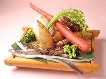 新鮮な海鮮、野菜を天ぷらとしてお楽しみ下さい