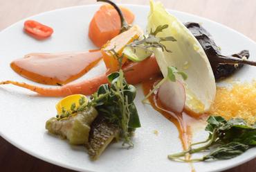 無農薬野菜の『榎本さんが育てた味わい野菜のコンポゼ』
