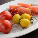 いろんな冷しトマト