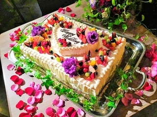 こだわりのウェディングケーキ
