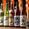 25~30種がそろう、新潟各地の地酒が自慢です