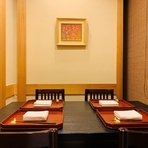 4名様の個室席がございます。会食などにおすすめです。