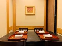 4名様の個室席