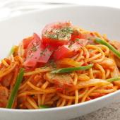 自家製トマトソースが特徴の『ナポリタン』