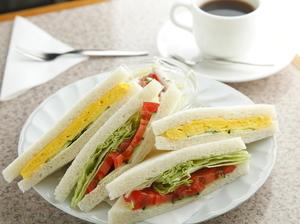 具の組み合わせが選べる『サンドウィッチセット』