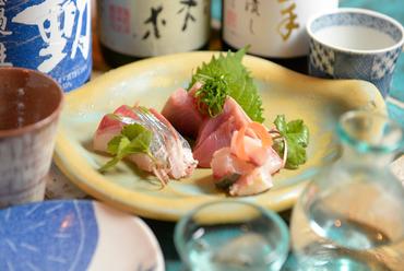 その日に一番おいしいお魚『本日のお刺身(おまかせ3種盛り)』