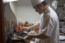 四川ならではの精進料理なども提供