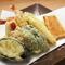 地物の野菜などを使った『天ぷら盛り合わせ』