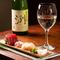 繊細な味付けの料理とこだわりの日本酒は会席にもおすすめ。