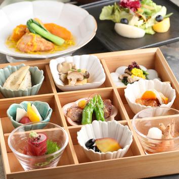 ◆楽コース◆桜山豚など、カジュアルに楽しむ全7品