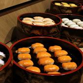 ディナータイムは握り寿司も食べ放題!