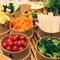 野菜の旨味がギュッと詰まった『せいろ蒸し野菜』