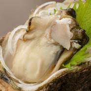 季節限定の美味に、思わず顔がほころぶ『岩牡蠣』