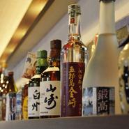 石川の地酒が種類豊富。心ゆくまでお酒を楽しめるお店