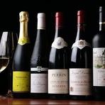 ワイン教室も大好評。飲み比べや、レクチャーが聞ける!
