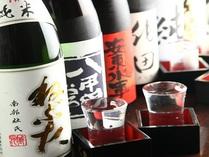 果実酒やワイン、日本酒など、その日の気分に合わせて