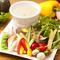 無農薬・減農薬・有機野菜を使った『菜園風バーニャカウダ』