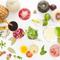 フルーツと野菜の饗宴。美味しい料理ができあがりそうな予感