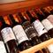 九州各地のワインから世界各国厳選ワイン、豊富なラインナップ