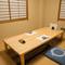 1階の座敷席は、掘りごたつの個室なので、ゆったりと過ごせます