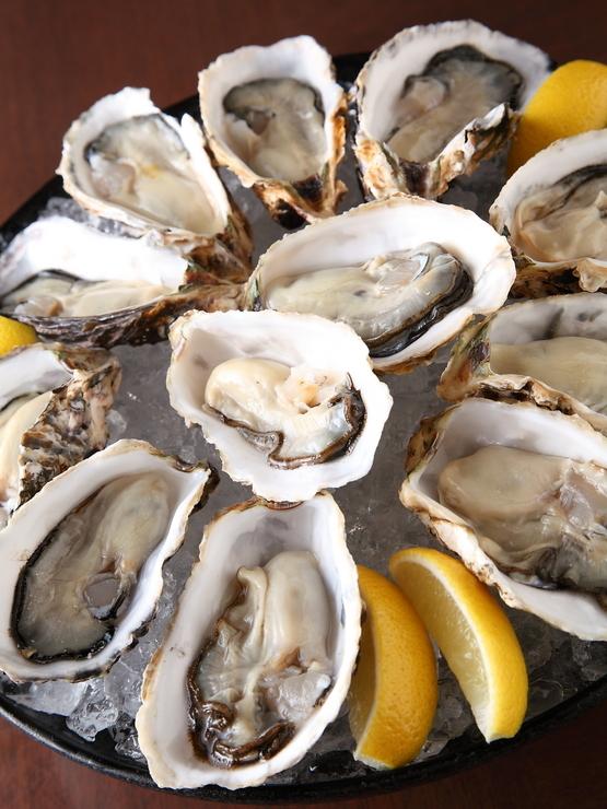 エンガワの牡蠣食べ放題コース