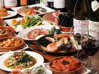 コスパの高いワインと豊富なタパスとのマリアージュを楽しめます