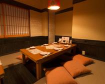6~15名対応の座敷個室