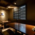 しっとりと落ち着いた和モダンな店内でいただくのは、日本三大和牛・最高級A5クラスの「松阪牛」。お肉によく合うお酒やワインも用意し心を込めてお出迎え。心きっと大切なお客さまにも喜んでいただけるお店です。