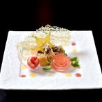 カマンベールチーズの鉄板焼き