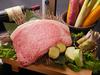 最高級松阪牛のシャトーブリアンを使用したコース国産天然アワビも付いた贅沢を極めたコースです。