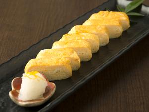 【古拙】こだわりの一番だしを使った、『蕎麦屋のだしまき卵』