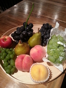 オーナーが自信を持っておススメする、山形県産の野菜や果物