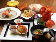 食前酒/先付/前菜/お椀/お造り/焼き物(伊勢海老)/煮物/揚物/酢の物/お食事/デザート/お抹茶