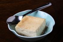 和の料理人の繊細な舌が作った『手作りベイクドチーズケーキ』