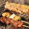 鮮度の良い、国産鶏肉を炭火で焼き上げてお出ししてます♪