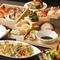贅沢な海鮮せいろ蒸しや雛鳥の北京ダック仕立て・ローストビーフなどが味わえる各種ご宴会に喜ばれるコース