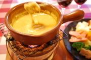 ※お二人様からのご注文になります。 プラス200円で明太チーズフォンデュに変更できます。