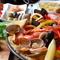 パエージャ・ミスタ<鶏肉と魚介、パプリカのパエリア>