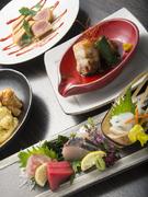 季節感あふれる料理の数々。料理人の素材へのこだわりを感じます