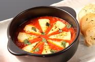イタリアンな創作料理『カマンベールとトマトのグラタン』