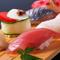沼津の魚と岩田農園の野菜を使う『おまかせ握り8貫』