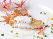 食欲をそそる『白身魚のソテー』
