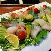 愛媛県産のお料理も人気