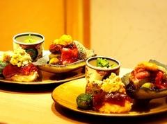 京懐石に肉と野菜をバランスよく取り入れた『肉懐石』 メインのお肉A5 サーロイン