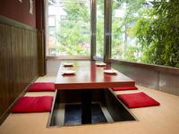 2階の個室は、まったく違う雰囲気が魅力です