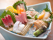 日本海のひきしまった鮮魚の味を堪能! 『山陰の地魚4種盛り』