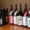 宮城・東北の地酒を中心に各地の銘酒を取り揃えています。