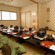 閑静で落ち着きのある空間です。真心をこめておもてなしさせていただきます。松坂で日本料理・和食をごゆっくりお過ごしいただけるお店です。